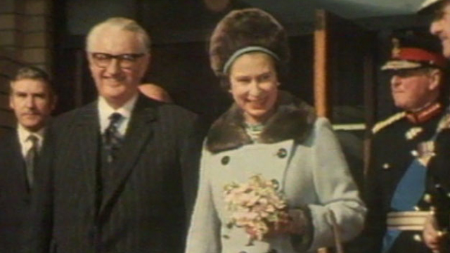 The Queen in Aberfan