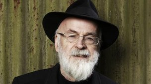 Sir Terry Pratchett pictured in 2011