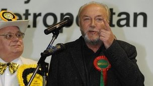 Respect Party candidate George Galloway