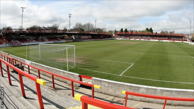 Accrington Stanley's Crown Ground