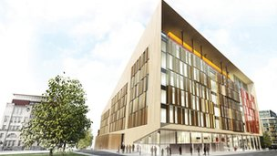 Artist&#039;s impression of the University of Strathclyde&#039;s Technology and Innovation Centre