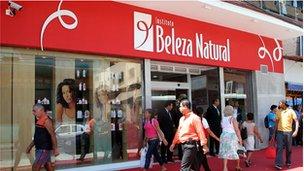 A Beleza Natural shopfront