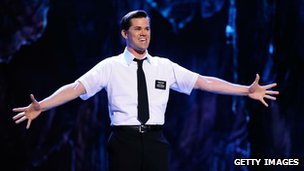 Andrew Rannells performs on stage during the 65th Annual Tony Awards at the Beacon Theatre