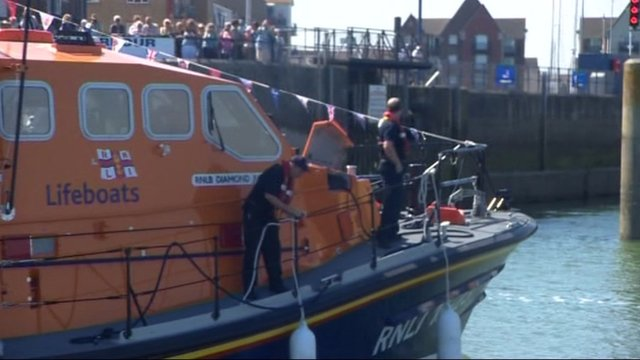Diamond Jubilee lifeboat