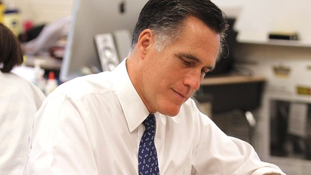 Romney promises to maintain US military power