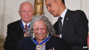 Toni Morrison at the White House 29 May 2012