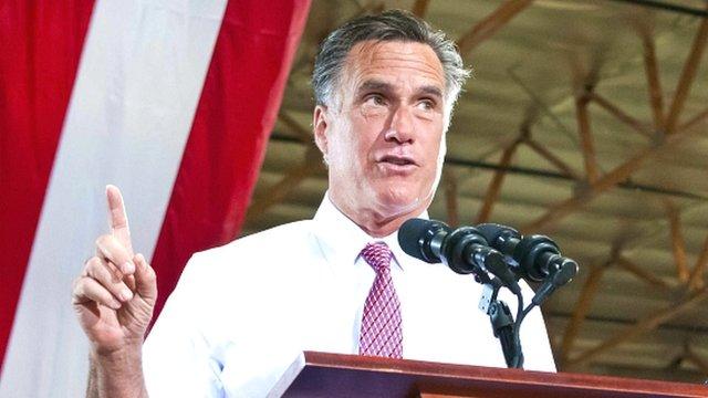 Former governor of Massachussetts, Mitt Romney
