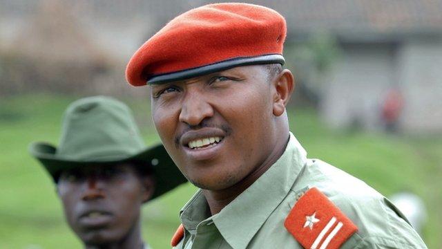 Renegade Congolese general Bosco Ntaganda