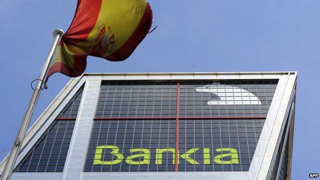 Bankia's headquarters in Madrid