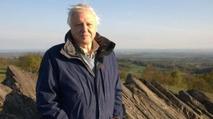 David Attenborough in Charnwood Forest
