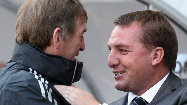 Kenny Dalglish and Brendan Rodgers