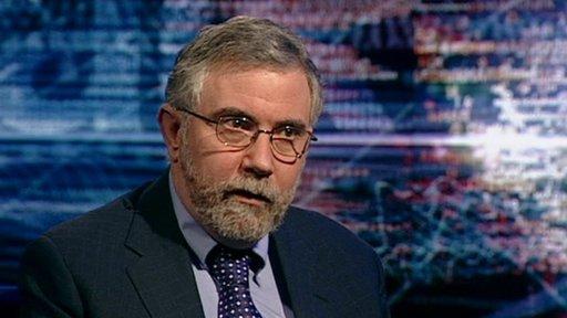 Paul Krugman, Nobel prize winning economist.
