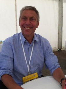 Former middle-distance runner David Moorcroft