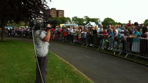 The BBC at Hanley Park