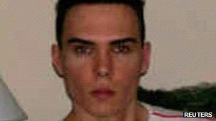 Luka Rocco Magnotta in a Montreal police handout photo