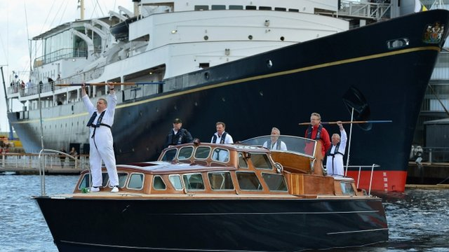 "Royal Yacht Britannia""s Yotties Prepare For Diamond Jubilee Celebrations"