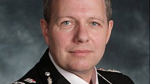 Chief Constable Tony Melville
