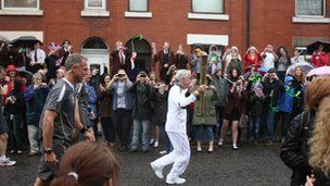 Macclesfield torch relay