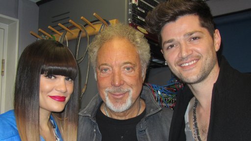 Jessie J, Tom Jones and Danny O'Donoghue
