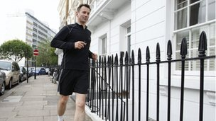 Jeremy Hunt running