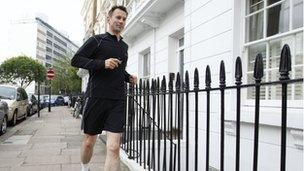 Jeremy Hunt running