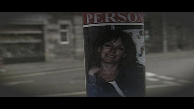 Missing poster showing Arlene Fraser