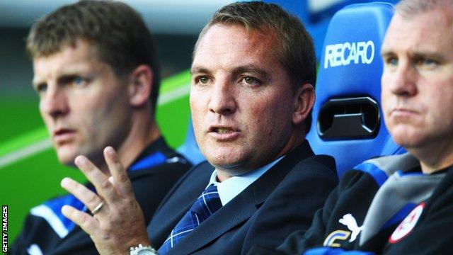 Brendan Rodgers at Reading