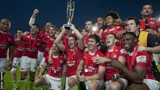 London Welsh win Champiosnhip final