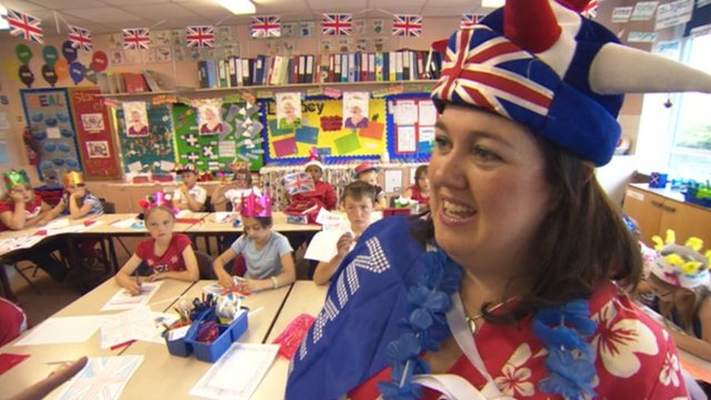 Teacher Michelle Granger of Knowleswood Primary School