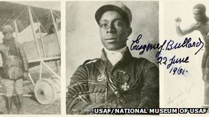 Photographs of Eugene Bullard