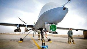 Reaper UAV  MoD