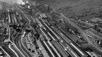 Ebbw Vale steelworks 1972