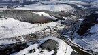 Rhondda Valleys in snow 2009