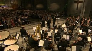 Performance of Britten's War Requiem at Coventry Cathedral