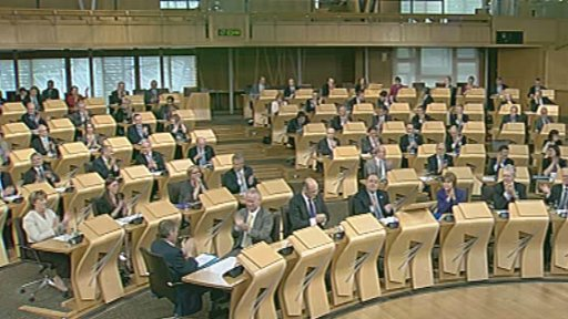 MSPs voted to agree that Scotland should be an independent country, after a debate on entitled Scotland's Future.