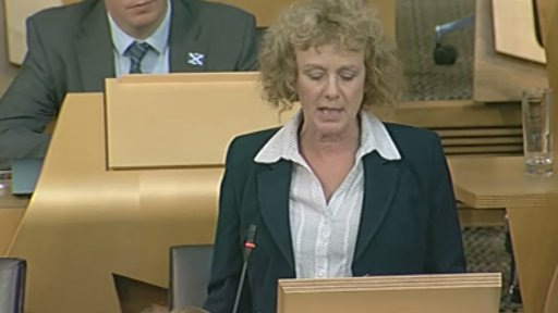 Labour MSP Elaine Murray led the debate