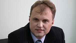 Trans-Dniester's leader Yevgeny Shevchuk