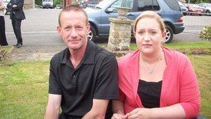 Ian Crocker and daughter Emma