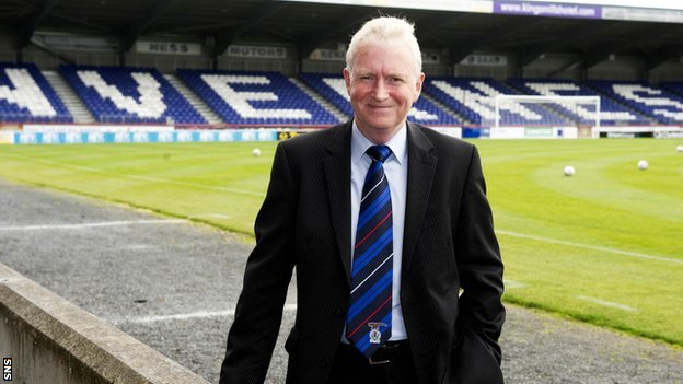 Inverness CT chairman Kenny Cameron