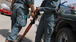 Two ANP officers