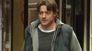 Hollywood actor Brendan Fraser