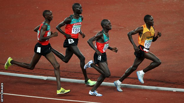 Kenyan 10,000m runners