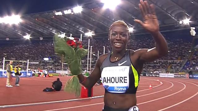 Cote d'Ivoire sprinter Murielle Ahoure