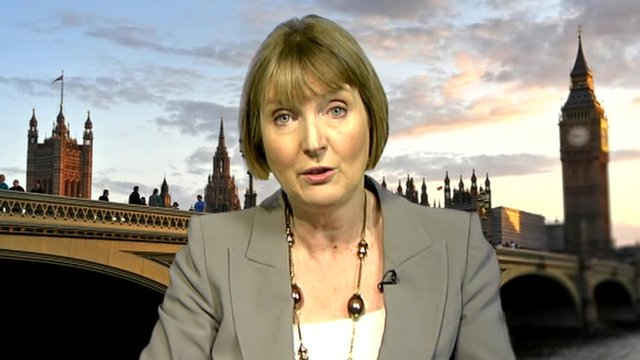 The Deputy Leader of the Labour Party, Harriet Harman