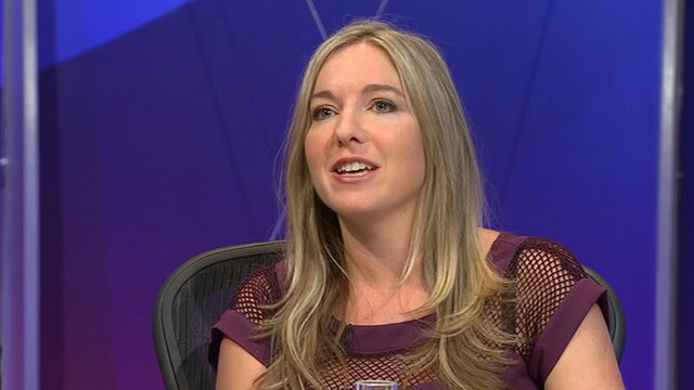 Victoria Coren on Question Time