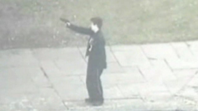 CCTV of gunwoman
