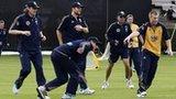 Australia warm up at The Grange