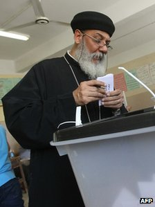 An Egyptian Coptic priest