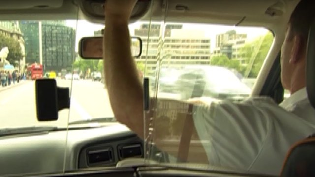London cab driver