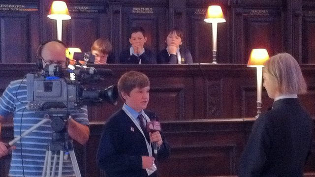 School Reporters go behind the scenes as St Paul's Cathedral prepares for the Jubilee Thanksgiving Service.